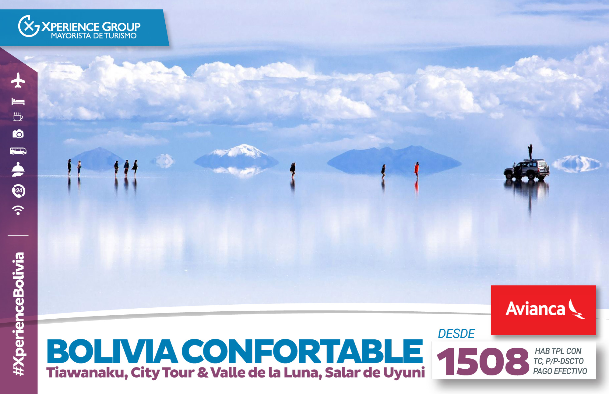BOLIVIA CONFORTABLE