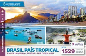 BRASIL PAÍS TROPICAL