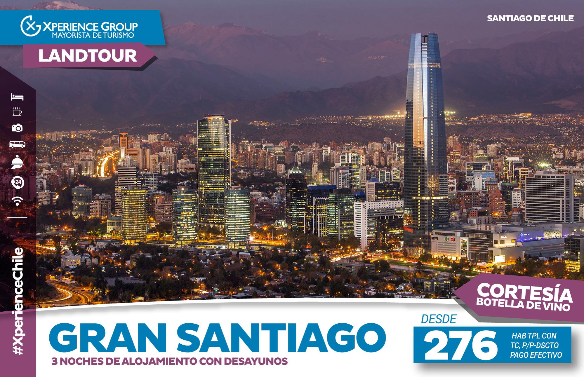 GRAN SANTIAGO (Landtour)