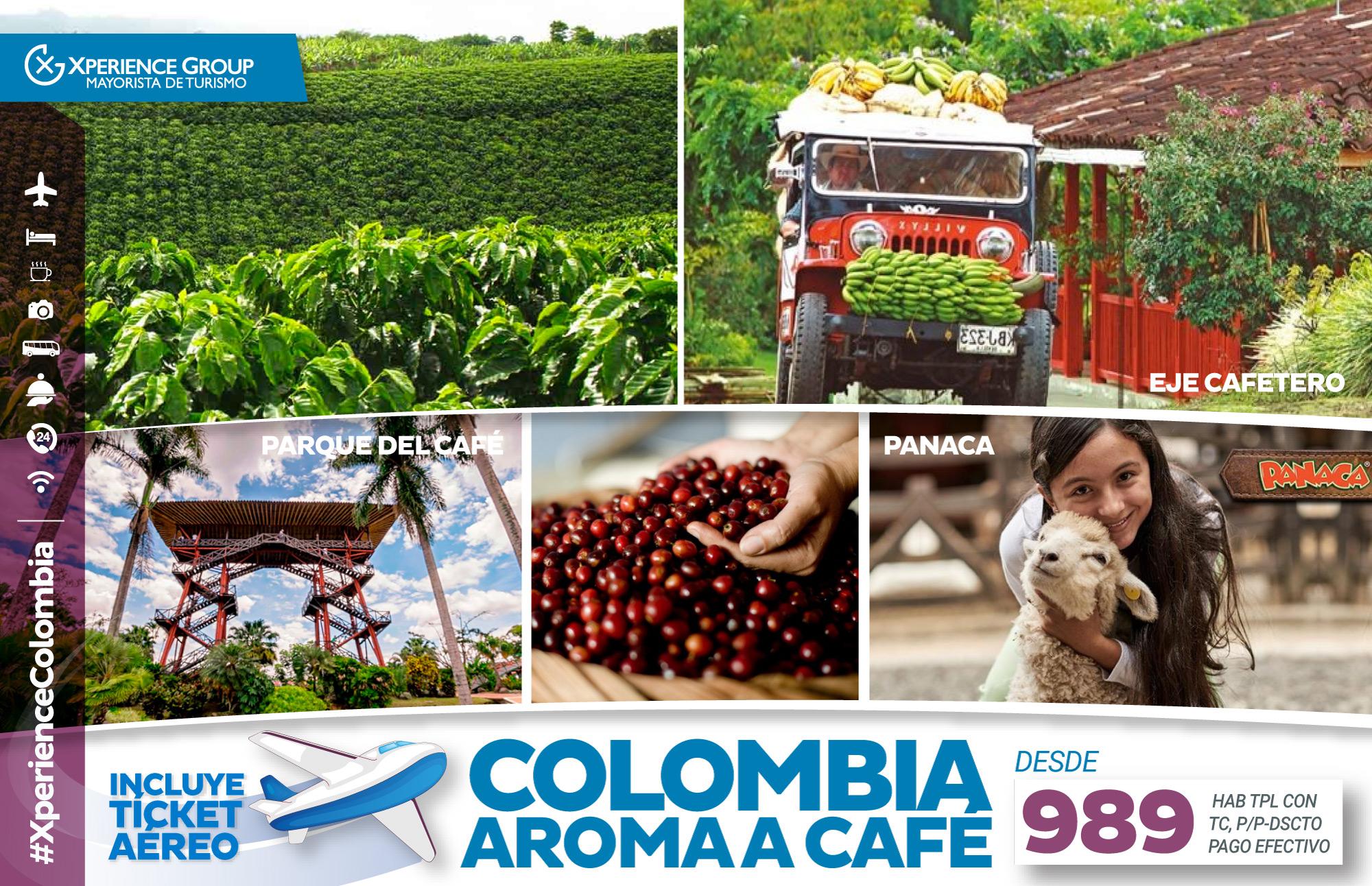 COLOMBIA, AROMA A CAFÉ
