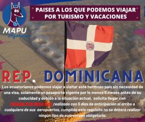 REP. DOMINICANA abrió sus fronteras para turismo!