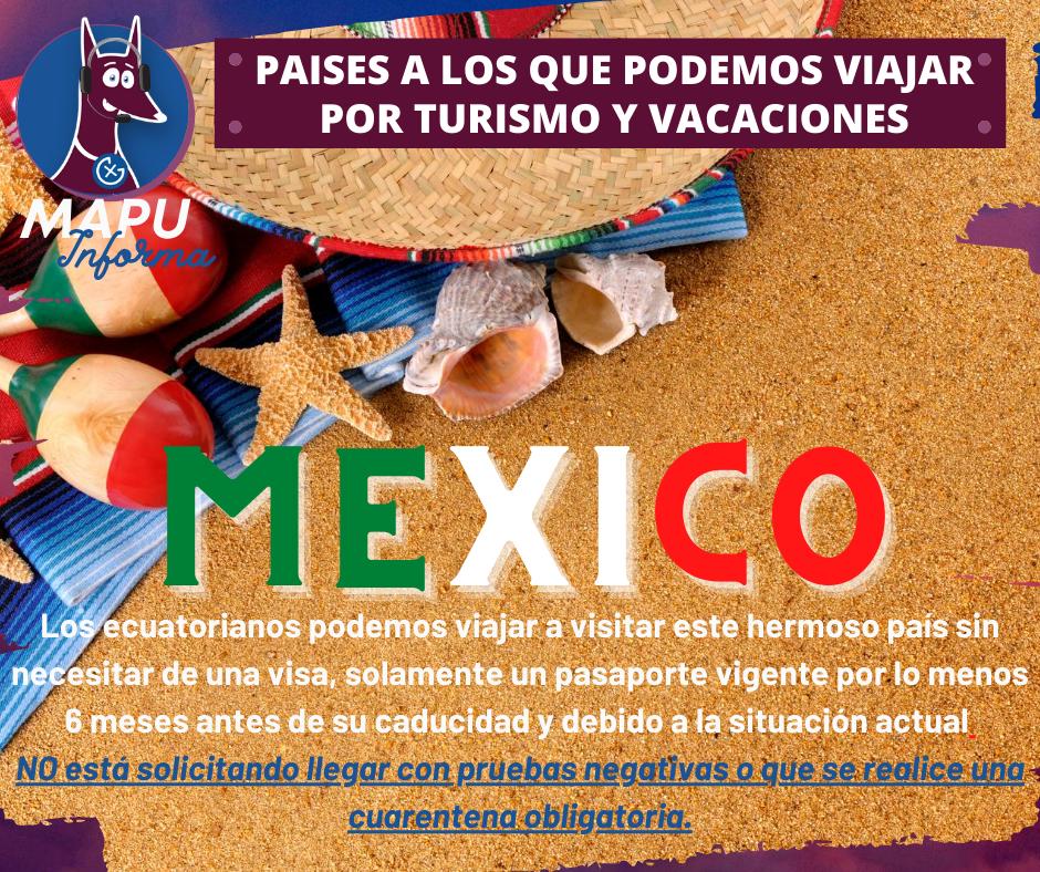 MEXICO LINDO Y QUERIDO, nos espera!